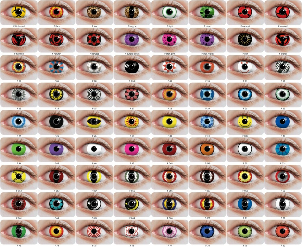 Color contact lenses. All colored contacts and Halloween contact ...